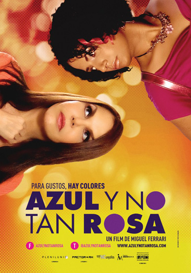 AZUL Y NO TAN ROSA