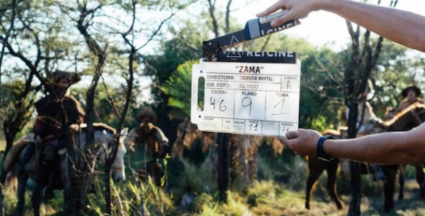 Toma del rodaje de Zama, de Lucrecia Martel.