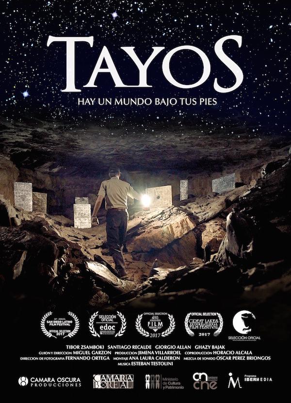 TAYOS, EL MISTERIO DEL MUNDO INTRATERRESTRE