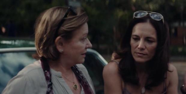 Ana Brun y Ana Ivanova en una escena de Las herederas, de Marcelo Martinessi.