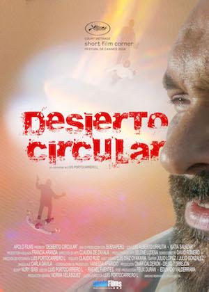 Desierto circular_Afiche