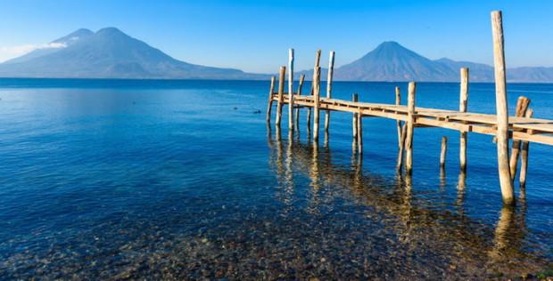 Lago de Atitlán, en Guatemala. © Civitatis.