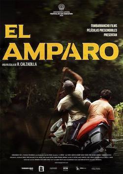 Cartel de El Amparo, de Rober Calzadilla.