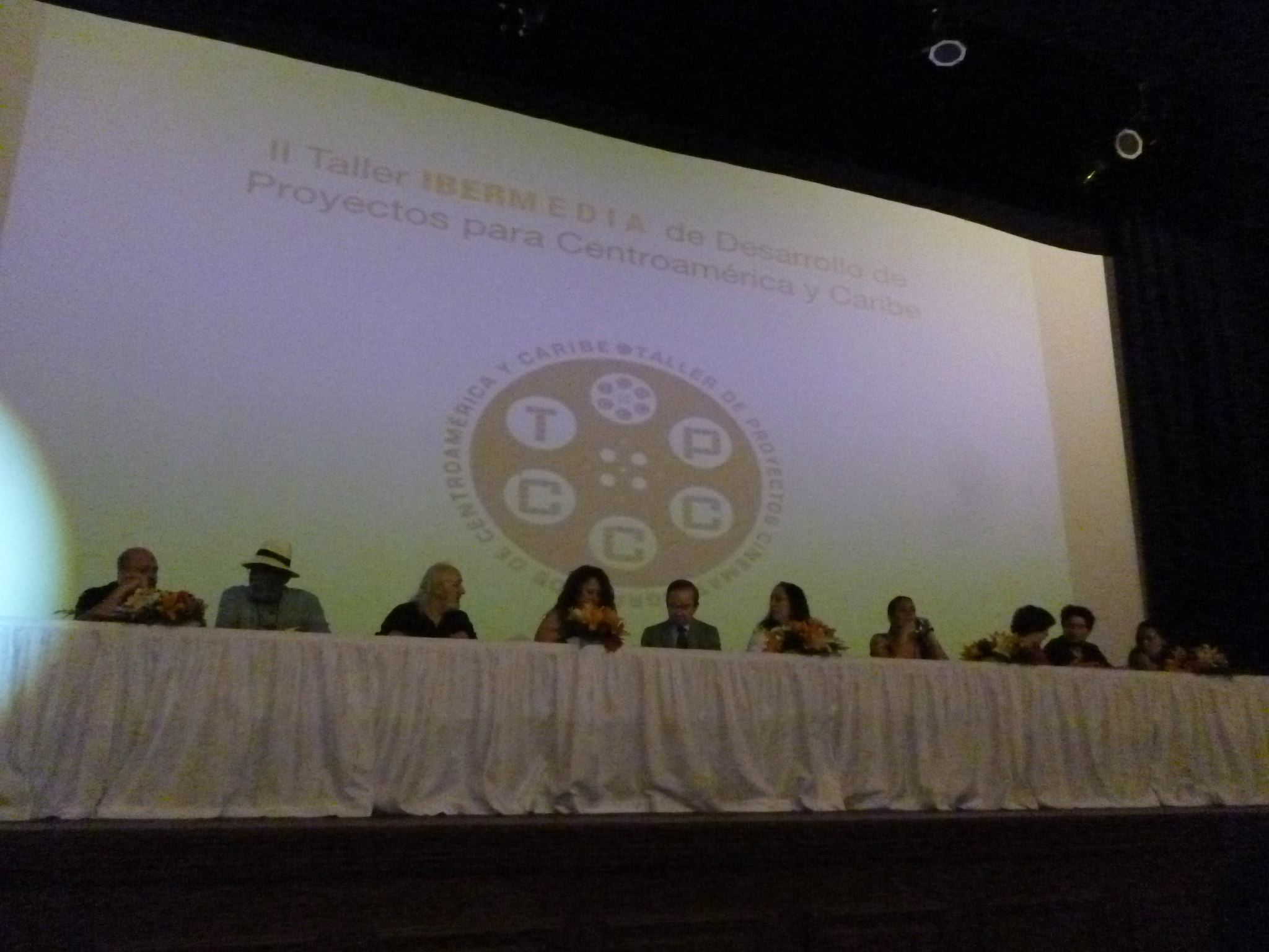 II Taller de Proyectos Cinematográficos de Centroamérica y Caribe.